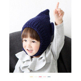 [BABYBLEE] A17121_Knit Button Bonnet for Infants, Baby, Hat, Made in KOREA