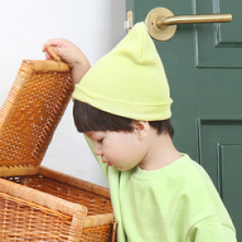 [BABYBLEE] A17206_Simple Beanie for Infants, Baby, Beanie, hat, Cotton 100%, MADE IN KOREA