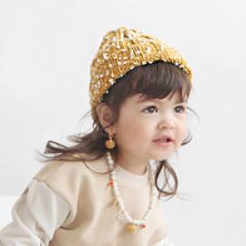 [BABYBLEE] A17805_Popcorn Beanie for Infants, Baby, Beanie, hat, Winter _ Made in KOREA