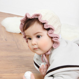 [BABYBLEE] A19104_Petal Bonnet for Infants, Baby, Hat, Made in KOREA