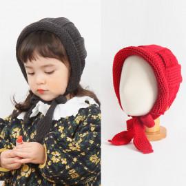 [BABYBLEE] A19105_Knit Roll up Bonnet for Infants, Baby, Hat, Made in KOREA