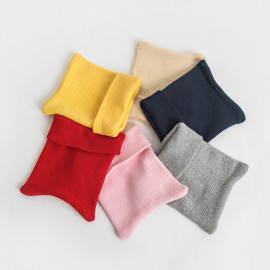 [BABYBLEE] A19204_Basic Roll up Beanie for Infants, Baby, Beanie, hat, Cotton 100%, MADE IN KOREA