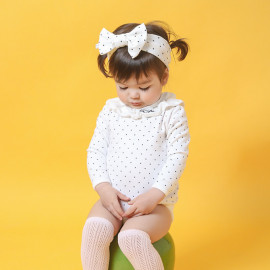 [BABYBLEE] D17209_Ruffle Suit for Infants, Cotton 100%, Made In Korea