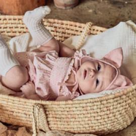 [BABYBLEE] D21401_Flower Pattern Jumpsuit for Infants, Cotton 100%, Made In Korea, Kids, Summer Pants