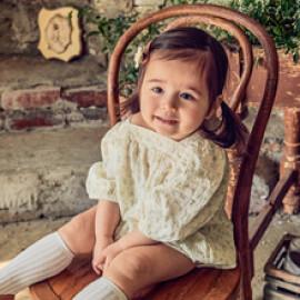 [BABYBLEE] D21402_Lace Jumpsuit for Infants, Cotton 100%, Made In Korea, Kids, Summer Pants