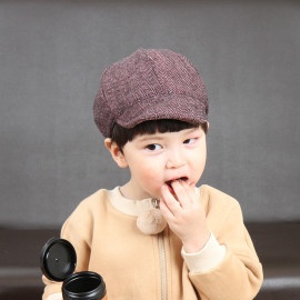 [BABYBLEE] A19333_ Herringbone Pattern Pure Cotton Baby Cap, Infant Cap, Kids hat _ Made in KOREA