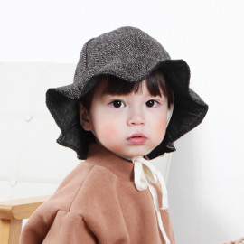 [BABYBLEE] A19530_ Mary Thong Bucket Hat, Infant Strap Bucket Hat, Children Hat _ Made in KOREA