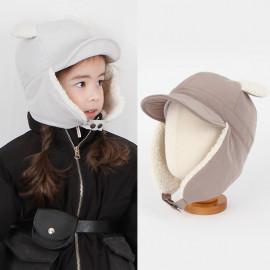 [BABYBLEE] A19903_ New Padded Bear Winter Hat, Infant Winter Hat, Ear Floppy Hat _ Made in KOREA