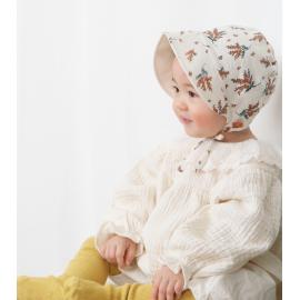[BABYBLEE] A20101 _ Double-Sided Flower Printing Bonnet B, bucket hat,  Infant Bonnet, Baby Hat, Infant Hat _ Made in KOREA