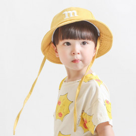 [BABYBLEE] A20512 _ M Embroidered Bucket Hat, Beach hat, Infant Hat, Kids Hat _ Made in KOREA