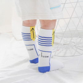 [BABYBLEE] F20301 The Boom Long Neck Socks, Children Socks, Girls Socks, Kids Socks _ Made in KOREA