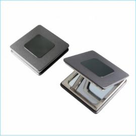 [Star Corporation] ST-309 Metal Compact Mirror _ Mirror, Hand Mirror, Double Sided Mirror,  Fashion Mirror, Portable Mirror, Folding Mirror