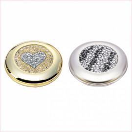 [Star Corporation] ST-327Q Compact Mirror _ Mirror, Hand Mirror, Magnifying Mirror, Fashion Mirror, Portable Mirror