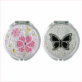 [Star Corporation] ST-347Q Compact Mirror _ Mirror, Hand Mirror, Magnifying Mirror, Fashion Mirror, Portable Mirror