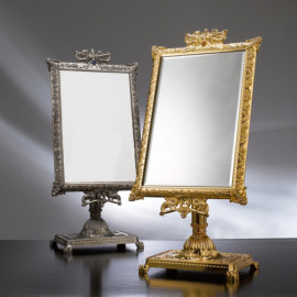 [Star Corporation] ST-538 Antique Tin Tabletop Mirror _ Mirror, Tabletop Mirror, Fashion Mirror