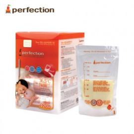 [PERFECTION] 2 Way Breast Milk Storage Bags, 180ml, 120 pcs (Temperature indicator)_ Breast-Feeding, Milk Powder, Feeding Bottle _ Made in KOREA