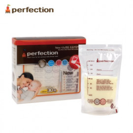 [PERFECTION] 2 Way Nano Silver Breast Milk Storage Bags, 180ml, 30pcs (Temperature indicator)_ Breast-Feeding, Milk Powder _ Made in KOREA