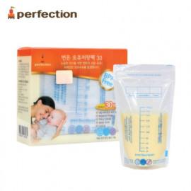 [PERFECTION] Original Breast Milk Storage Bags, 200ml, 30 pcs (Temperature Indicator) _ Breast-Feeding, Feeding Bottle _ Made in KOREA