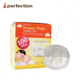 [PERFECTION] Breast Pad A, 100 Sheets _ Nursing Pads, Disposable Breast Pads _ Made in KOREA