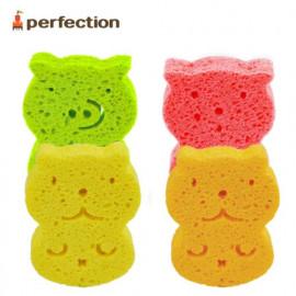 [PERFECTION] Natural Bath Sponge _ Newborn, Shower sponge, natural cellulose 100% _  Made in Korea