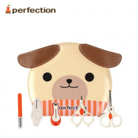 [PERFECTION]  Safety Baby Nail Care Set of 5 _ Sanitary, Infant Nail Clipper _ Made in KOREA