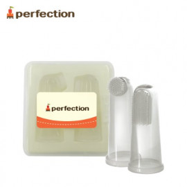 [PERFECTION] Silicone Finger Toothbrush, 2P _ Gum Massage, Baby Oral Hygiene, Baby Toothbrush _ Made in KOREA