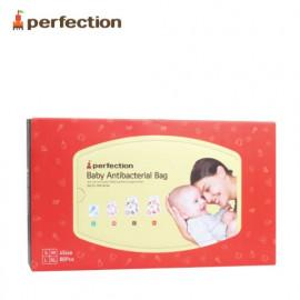 [PERFECTION] Antibacterial Baby Zipper Bags Set 80pcs _ Reusable, Storage Bag, Food Storage, Made in Korea
