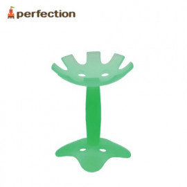 [PERFECTION] Flower Teething Toy, Green _ Baby Teething tot, 4 Months, Newborn, Soft _ Made in KOREA