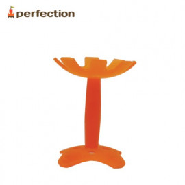 [PERFECTION] Flower Teething Toy, Orange _ Baby Teething tot, Easy to Hold, 4 Months, Newborn _ Made in KOREA