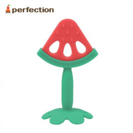 [PERFECTION] Watermelon, Infant Teething Toy _ Baby Teething tots, Infant, FDA-approved, Easy to Hold, Newborn, Soft _ Made in KOREA