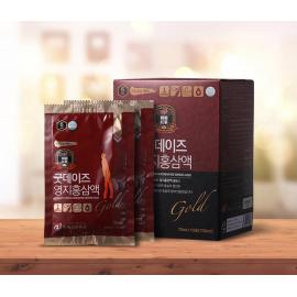 [KRG] GOOD DAYS Linzhi and KOREAN RED GINSENG Gold _ 70 ml * 30 (2,100 ml)