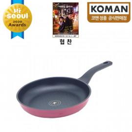 [KOMAN] Sense Win, Nonstick Titanium Coating Frying Pan, 26cm _ Omelette Pan, Cookware Chef's Pan_ (SGS Approved. PFOA Free) _ Made in KOREA