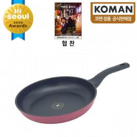 [KOMAN] Sense Win, Nonstick Titanium Coating Frying Pan, 28cm _ Omelette Pan, Cookware Chef's Pan_ (SGS Approved. PFOA Free) _ Made in KOREA
