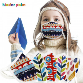 [Kinder Palm] 49% OFF _ Baby and Kids Face Cloth Mask Reusable, Washable and Adjustable Cover Best Gift for Girls and Boys