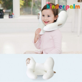 [Kinder Palm] 35% OFF _ L-Line Kids Neck Pillow, Cool_ Air Mesh, Child Neck Pillow, Neck Supporter _ Made in KOREA