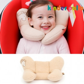 [Kinder Palm] 40% OFF _ L-line Neck Pillow, Organic _ Child Neck Pillow, Neck Support _ Made in KOREA