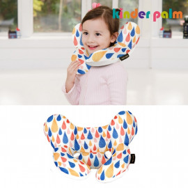 [Kinder palm] 35% OFF _ L-line kids neck pillow, nature cool_ air mesh, child neck pillow, neck supporter _ Made in KOREA
