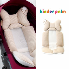 [Kinder Palm] 45% OFF _ S-line Baby Stroller Liner, Organic Cotton 100% Seat Pad, Cushion Pad, 4 seasons, Universal Fit, 3D Air-mesh _ Made in KOREA