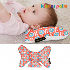 [Kinder palm] 33% OFF_ S-line infant neck protection cushion, Nature soft and cool_ air mesh, cotton, baby pillow _ Made in KOREA