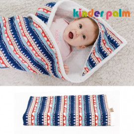[Kinder Palm] 43% OFF _  Unisex Cotton Baby Hoodied Blankets (105 * 85 cm), 100% Cotton _ Made in KOREA