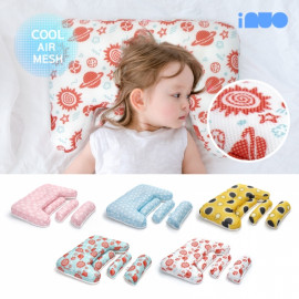 [Kinder palm] 41% OFF_ inuo cool pit, kids pillow / Child pillow, preventing flat head syndrome, growth alignment cervical pillow _ Made in KOREA