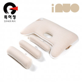 [Kinder palm] 40% OFF_Inuo Pit, Organic, Pooh, Infant Pillow / Baby Pillow, Newborn Baby Pillow by adjusted according to the baby's growth stage _ Made in KOREA