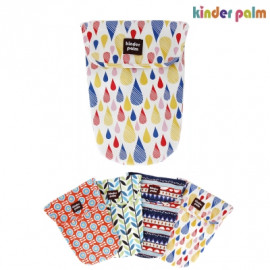 [Kinder Palm] 49% OFF _ Mom's Diaper Bag, Organizing Pouch, Cotton 100%, Clothes Storage Pouch Bags (27 * 20 cm) _ Made in KOREA