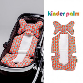 [Kinder Palm] 41% OFF _ Baby Stroller Liner, Car Seat Pad, Cushion Pad, 4 Seasons, Universal Fit _ Made in KOREA