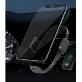 [MOMOTO] A7_Motion detection, Wireless Smart Car Charger Mount, Auto S slide Clip, 360-degree rotation, Options for Dashboard, Air Vent, Windshield