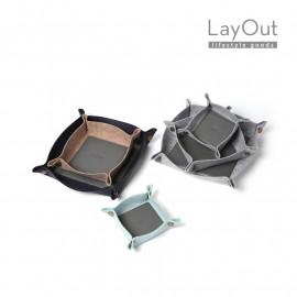 [LayOut] Felt DESK Tray Organizer_ Small Size _Made in Korea
