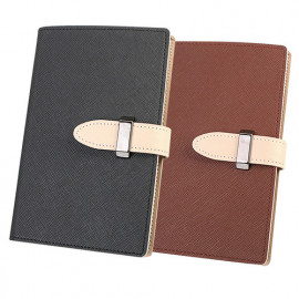 [WOOSUNG] DOKDO_Saffiano pattern Passport Holder Cover Wallet, Travel wallet, Notepad cover with 60 pages notepad_Made in KOREA