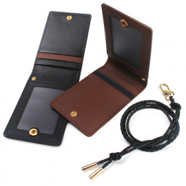 [WOOSUNG] DOKDO_Slim Minimalist Front Pocket Wallet, Credit Card Holder Wallet, Bi-fold wallet with leather string _Made in KOREA