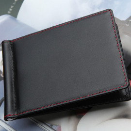 [WOOSUNG] FG_Men's Leather Money Clip Bifold Wallet_Made in KOREA