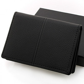 [WOOSUNG] Ople PU leather Business Card Holder Case, Credit Card Holder _ Made in KOREA